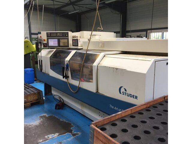 mehr Bilder Schleifmaschine Studer S 33 CNC + C +-0,5° + B 1°