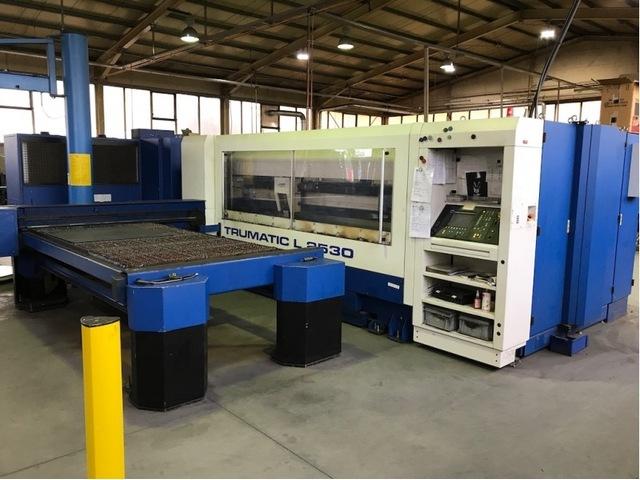 mehr Bilder Trumpf TC L 2530 - 2400 W Laserschneidanlagen
