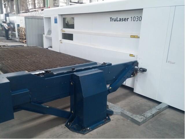 mehr Bilder Trumpf TruLaser 1030 fiber (L46) Laserschneidanlagen