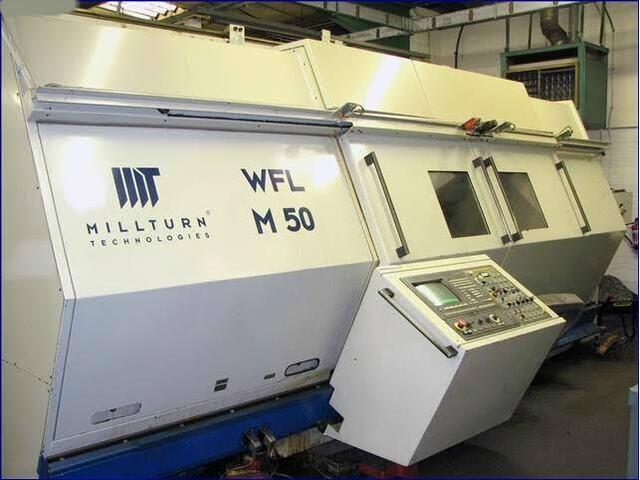 mehr Bilder Drehmaschine WFL Millturn M 50