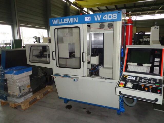 mehr Bilder Willemin-Macodel W 408, Fräsmaschine Bj.  1998