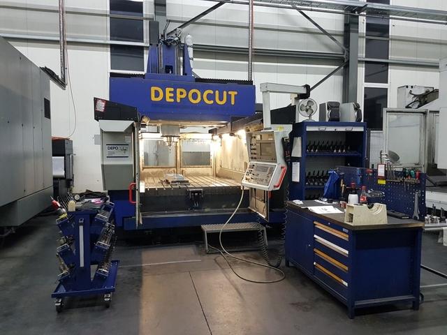 mehr Bilder ZPS Depocut 2012, Fräsmaschine Bj.  2000