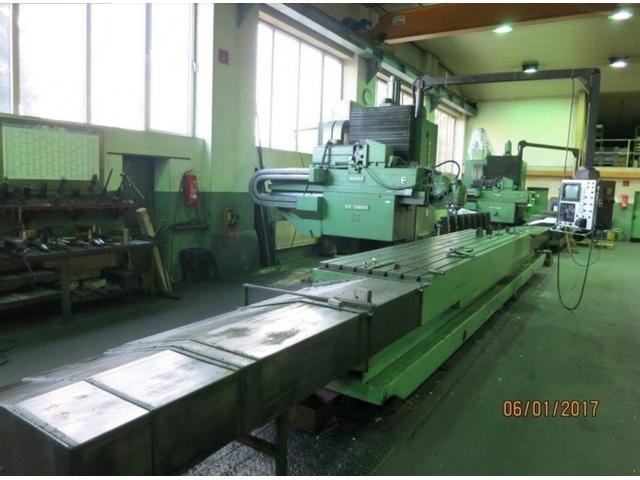 mehr Bilder Zayer KF 5000 CNC Bettfräsmaschinen