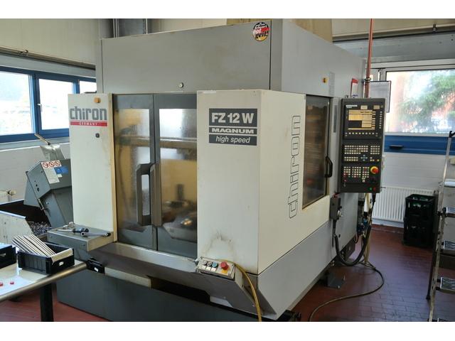 mehr Bilder Chiron FZ 12 W, Fräsmaschine Bj.  2000