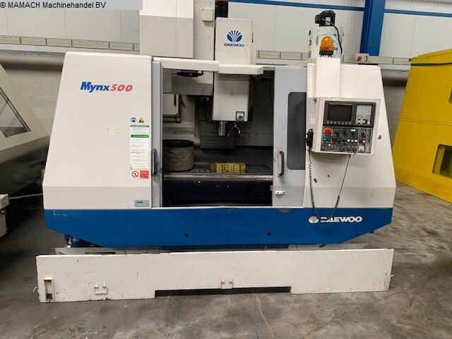 mehr Bilder Fräsmaschine Daewoo Mynx 500
