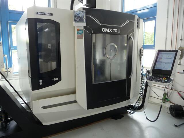 mehr Bilder Fräsmaschine DMG CMX 70 U