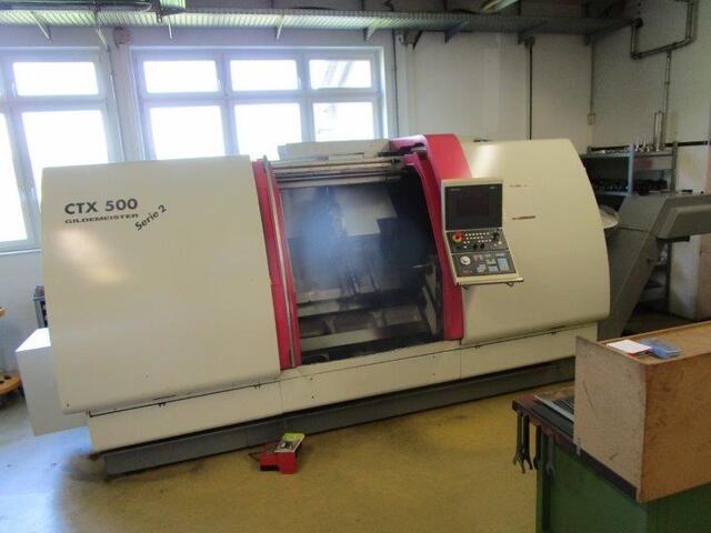 mehr Bilder Drehmaschine DMG CTX 500 Serie 2 V1