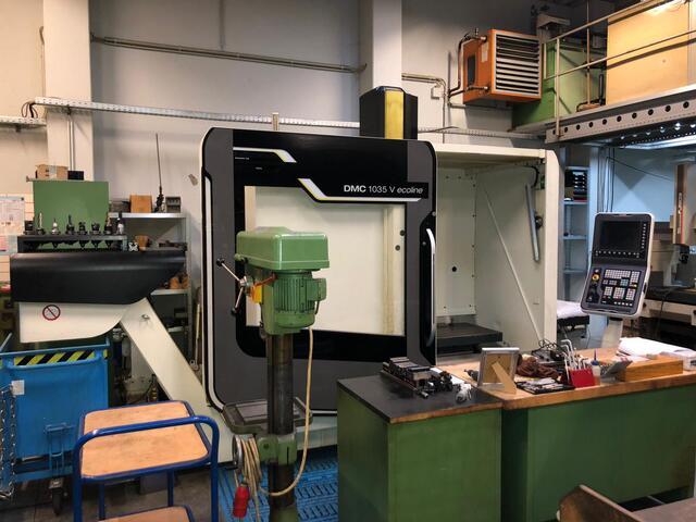 mehr Bilder DMG DMC 1035 v Eco, Fräsmaschine Bj.  2013
