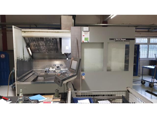 mehr Bilder DMG DMC 104 V, Fräsmaschine Bj.  2003