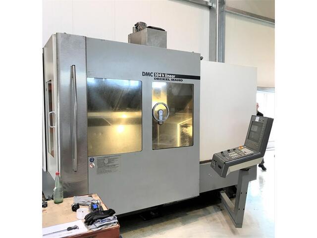 mehr Bilder DMG DMC 104 V Linear, Fräsmaschine Bj.  2005