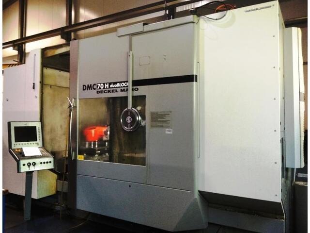 mehr Bilder DMG DMC 70 H duoBlock, Fräsmaschine Bj.  2007