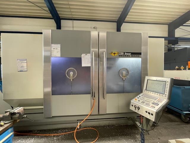 mehr Bilder Fräsmaschine DMG DMF 200 L