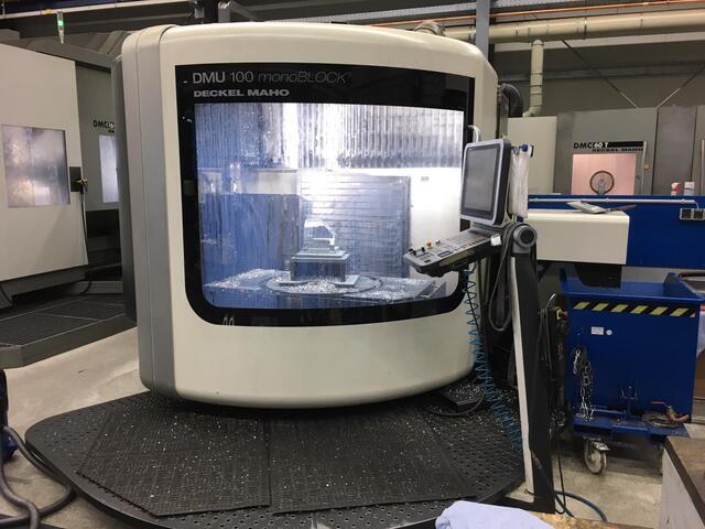mehr Bilder DMG DMU 100 monoBlock, Fräsmaschine Bj.  2008