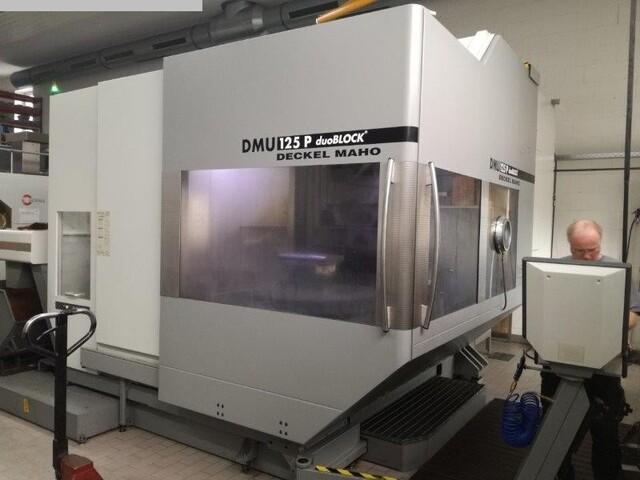 mehr Bilder Fräsmaschine DMG DMU 125 P duoBLOCK
