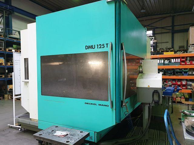 mehr Bilder Fräsmaschine DMG DMU 125 T
