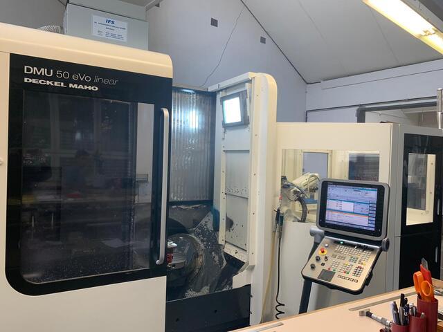 mehr Bilder DMG DMU 50 Evo + WH3, Fräsmaschine Bj.  2010