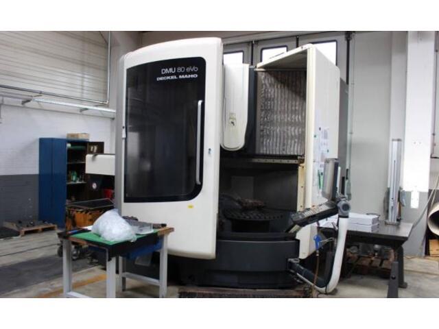 mehr Bilder DMG DMU 80 evo, Fräsmaschine Bj.  2013