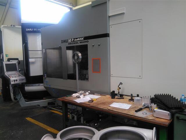 mehr Bilder DMG DMU 80 P duoBlock 18.sp 60 Wz, Fräsmaschine Bj.  2006