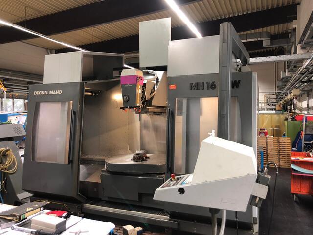 mehr Bilder DMG Maho 1600 W, Fräsmaschine Bj.  1997