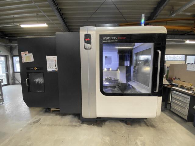 mehr Bilder Fräsmaschine DMG Mori HSC 105 Linear