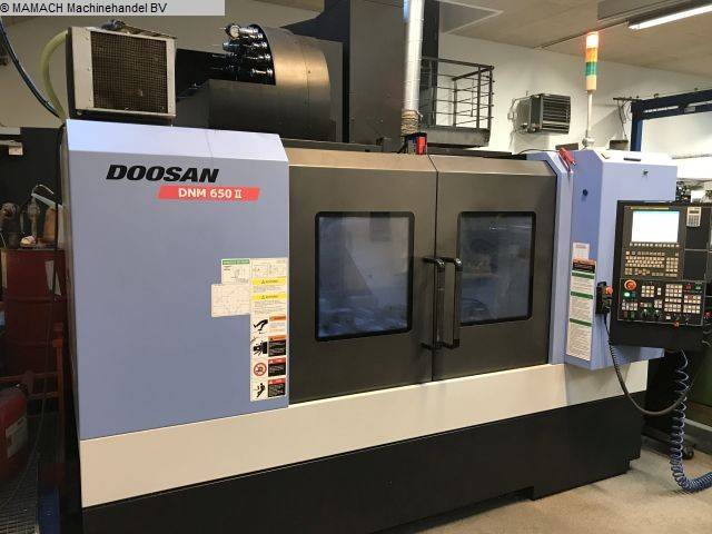 mehr Bilder Fräsmaschine Doosan DNM 650 II