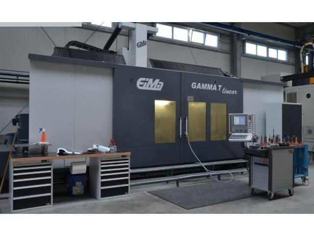 mehr Bilder EIMA Gamma T linear Portalfräsmaschinen