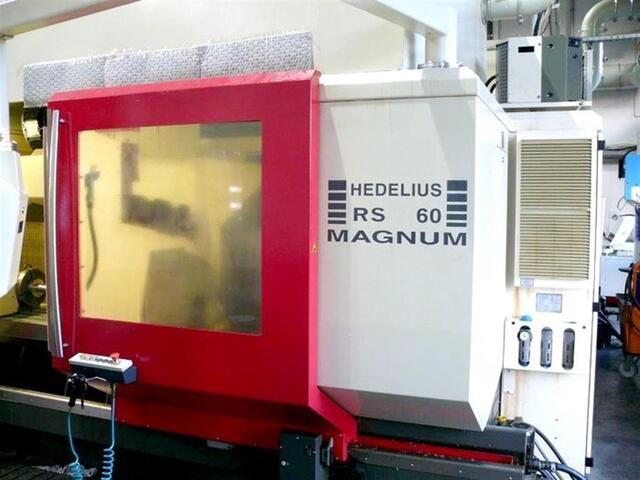 mehr Bilder Fräsmaschine Hedelius RS 60 KM-2000