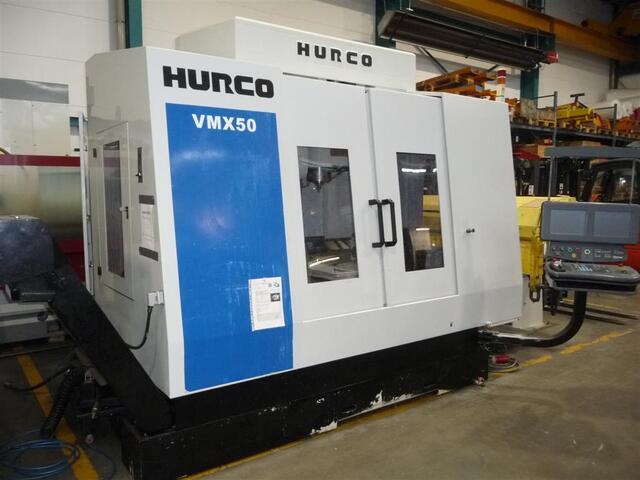 mehr Bilder Fräsmaschine Hurco VMX 50 /40 T NC Schwenkrundtisch B+C axis