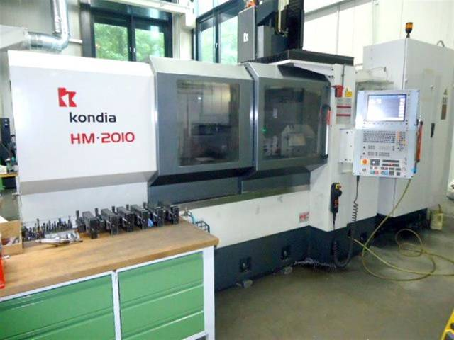 mehr Bilder Fräsmaschine Kondia HM 2010