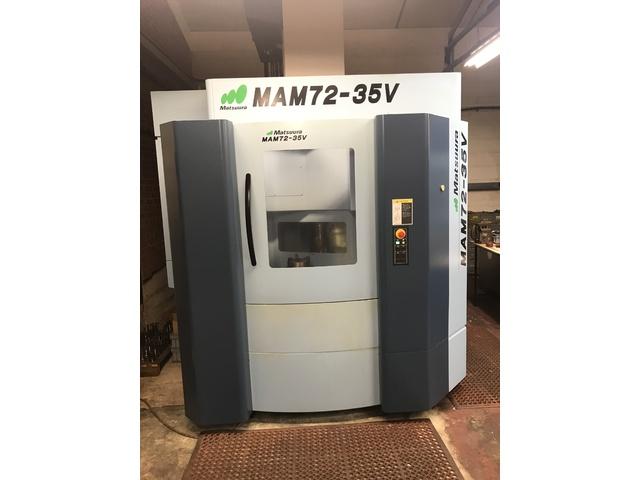 mehr Bilder Matsuura MAM 72 35V, Fräsmaschine Bj.  2014