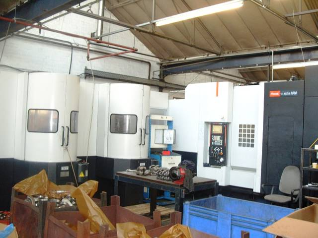 mehr Bilder Fräsmaschine Mazak HCN 5000 Palletech