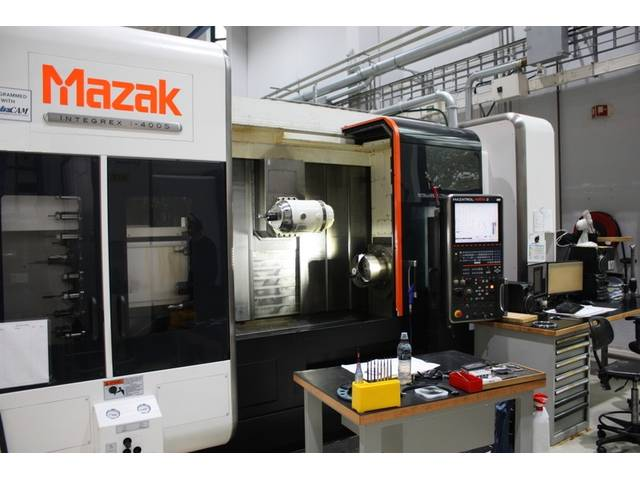 mehr Bilder Drehmaschine Mazak integrex i 400 S  1.500 U