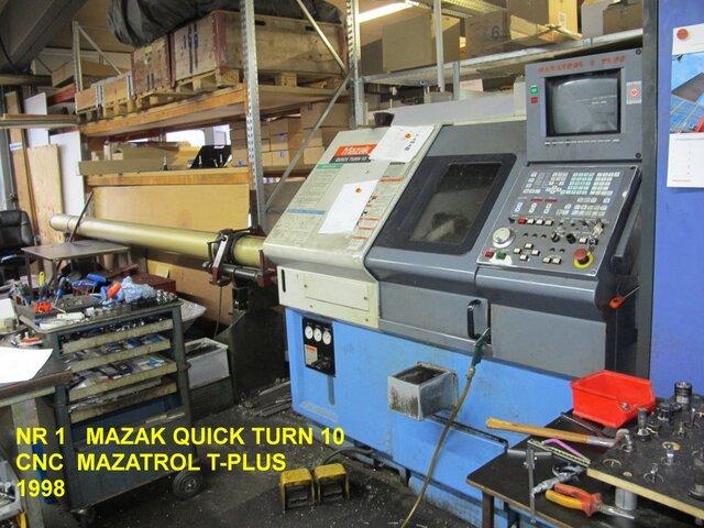 mehr Bilder Drehmaschine Mazak QT 10