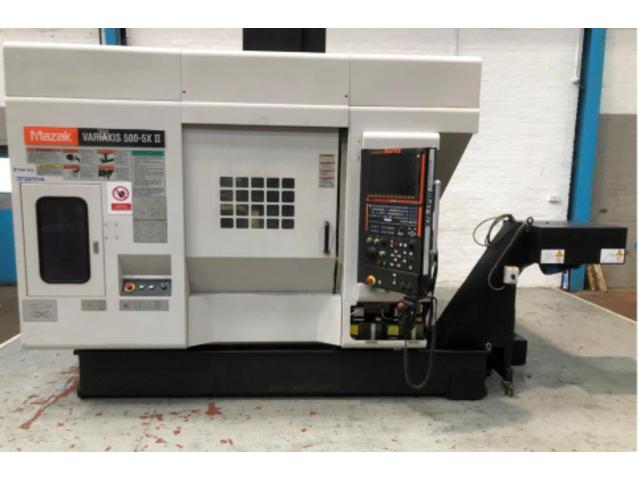 mehr Bilder Fräsmaschine Mazak Variaxis 500-5X II