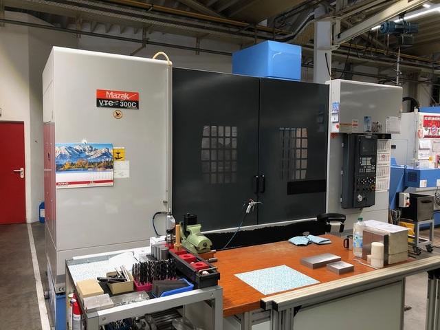 mehr Bilder Fräsmaschine Mazak VTC 300 C