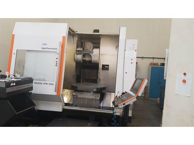mehr Bilder Fräsmaschine Mikron HPM 1350 U