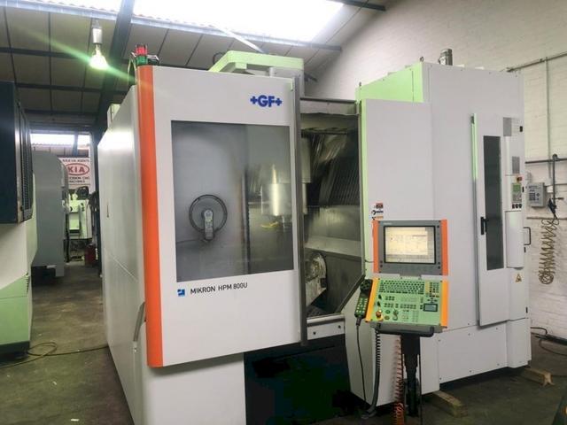 mehr Bilder Fräsmaschine Mikron HPM 800 U