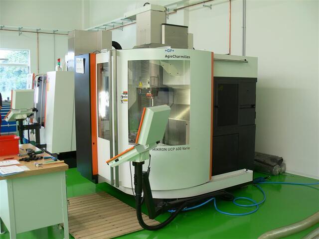 mehr Bilder Mikron UCP 600 Vario, Fräsmaschine Bj.  2011