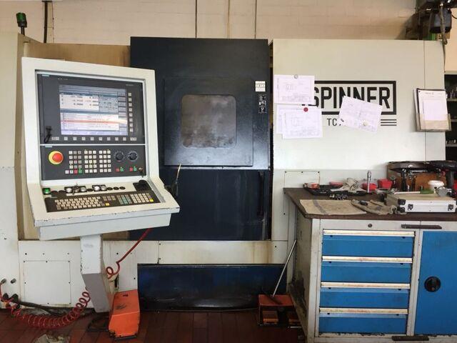 mehr Bilder Drehmaschine Spinner TC 77 MCY
