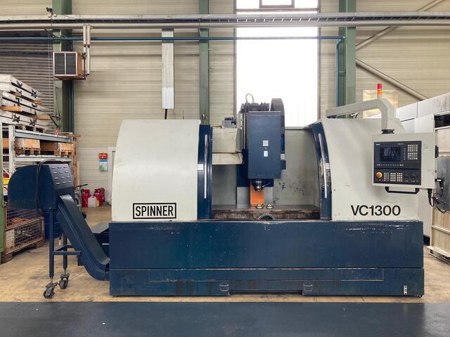 mehr Bilder Fräsmaschine Spinner VC 1300