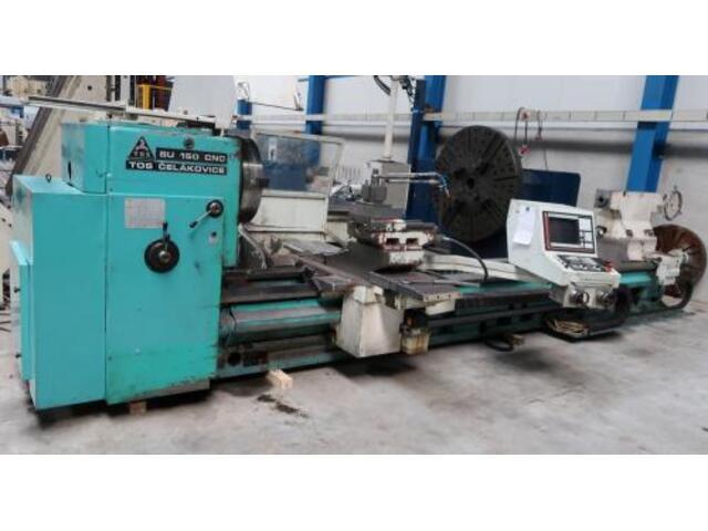mehr Bilder Drehmaschine TOS SU 150 CNC 5000