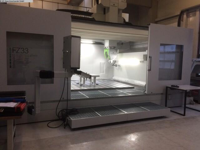 mehr Bilder Zimmermann FZ 33 C Portalfräsmaschinen
