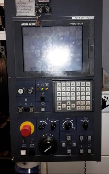 gebrauchte mori seiki cv 500 apc fr u00e4smaschine bj  1998  8087